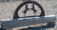 Perfect for the entry to your ranch.   www.custommetaldesigns.webs.com