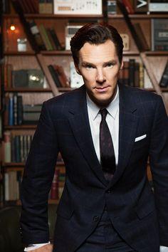 An Edit a Day ⚜ Benedict Cumberbatch ⚜ [126/?] Books! There are books in this picture! Benedict Cumberbatch and books!