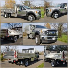 New #Ford #F550 4x4 Twin Equipment Aluminum Landscaper Dump. #LockhartConsulting #Toronto #2k17