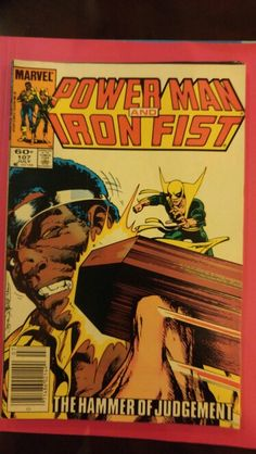 Power Man and Iron Fist #107 July 84