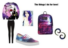 """The Things I Do For Love"" by vbrennan18 on Polyvore featuring Oasis, Vans, JanSport and Pyrex"