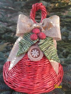 Newspaper, Advent, Baskets, Christmas Ornaments, Decoration, Holiday Decor, Crafts, Home Decor, Recycled Paper Crafts