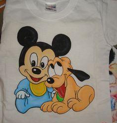 handpainted kids shirt