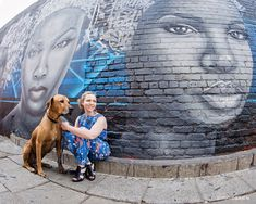A dog portrait shoot in Maboneng Precinct, Johannesburg. Featuring three Rhodesian Ridgebacks, some cool graffiti and their stylish dog mom. Dog Photography, Street Photography, Rhodesian Ridgeback, Fun Shots, Pictures Of People, Dog Portraits, Four Legged, Dog Mom, Your Dog