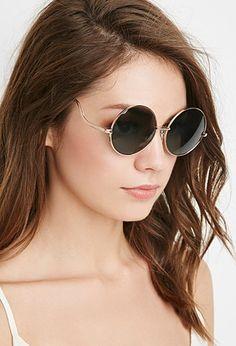 Round Frame Sunglasses | Forever 21 - 1000173875