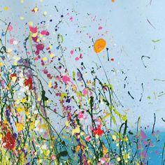 Detail of seascape ❤️ fron UK Flower Artist Yvonne Coomber     #Regram via @yvonnecoomber