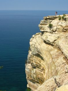 Pictured Rocks in Michigan's Upper Peninsula