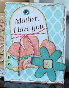 Mother's Day Card using Kiwi Lane Designer Templates