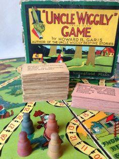 Vintage Uncle Wiggily Game