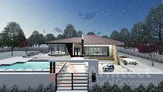 Casa parter 29 | Proiecte de case personalizate | Arhitect Gabriel Georgescu & Echipa Home Fashion, Mansions, House Styles, Home Decor, House, Decoration Home, Manor Houses, Room Decor, Villas