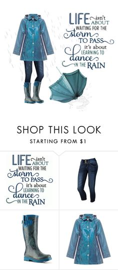 """""""Just dance in the rain"""" by chiarettadesign ❤ liked on Polyvore featuring Betta, Dirty Laundry and Yumi"""