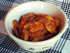 Rosemary and sea salt sweet potato chips
