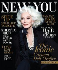 She's so fabulous!! --> Carmen Dell'Orefice