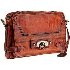 Frye 'Cameron' Cognac Leather Cross-body Bag