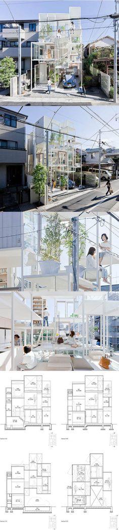 Name House NA Designer Sou Fujimoto Architects Location Tokyo
