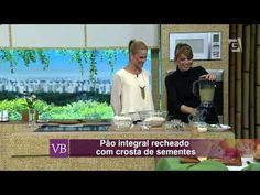 PÉ DA COZINHA: Receita fácil e deliciosa de pão Integral Caseiro com ou sem glúten