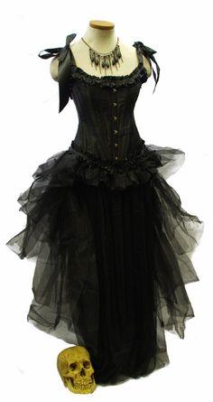 the Vampire Ball dress - excellent website:  goodgoth.com
