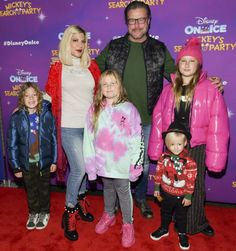 Tori Spelling is 'grateful' to be 'unharmed' after witnessing a shooting with her kids