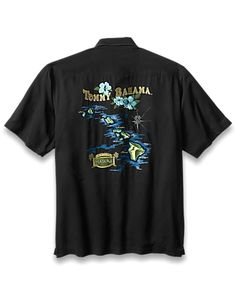 3f803a4a5a Paradise Hawaii Camp Shirt. Tiki Addiction · Men s Clothing · Tommy Bahama  shirt.