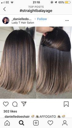 120 bold brunette balayage hair color highlights in 2019 page 31 - Hair - Hair Designs Brown Hair Balayage, Balayage Brunette, Hair Color Balayage, Brunette Hair, Haircolor, Summer Brunette, Dark Brunette, Brunette Makeup, Brunette Color