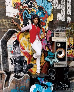 M.I.A. photographed by Tim Walker