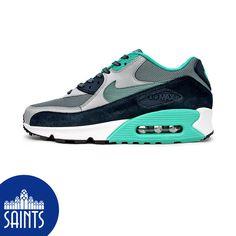 Nike Air Max 90 Essential Blue Graphite Navy Wolf Grey 0490d9872
