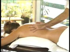 back massage. video
