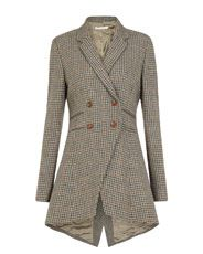 Check Flossie Frock Coat from Cabbages & Roses - how sophisticated