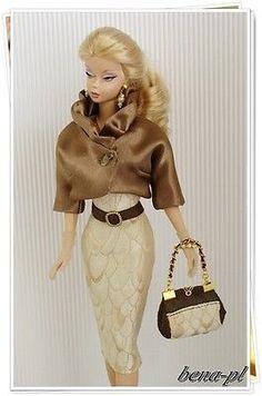 bena-pl Clothes for Silkstone, Vintage Barbie, Fashion Royalty OOAK outfit