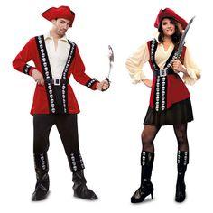 Pareja de Disfraces de Piratas #parejas #disfraces #carnaval