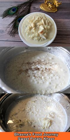 This is the best sakkarkand (sakkaria) kheer (sweet potato pudding) ever! I am absolutely trilled to share recipe with you all. Sweet Potato Pudding, Vegetarian Cooking, Gluten Free Recipes, Free Food, Plant Based, Journey, Easy, Desserts, Tailgate Desserts