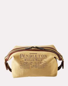 COTTON CANVAS ESSENTIALS POUCH  pendleton Pendleton Woolen Mills 6382af2d687a3