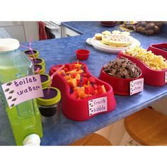 food paw patrol birthday party - Google Search