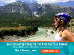 """Biking Europe // IMPACTFUL ADVENTURES  """"BikeTours.com is an island of reasonable costs in a sea of big-time expense…and one of the most effective ways to experience the highlights of Europe's countryside and historic villages at a reasonable cost."""" - Arthur Frommer, Frommer's Travel Guides  Tours for all abilities. Guided and self-guided. One-week tours starting at less than $1,000.  Find your dream tour: goo.gl/14IlHS  #ThisIsAdventure"""