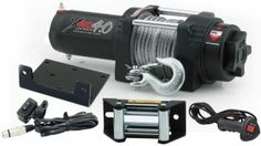The winches we stock will give you power to get out of different types of jam troubles.
