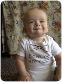 Bowties are coolDoctor Who baby onesie by RomanticMindDesigns, $5.00