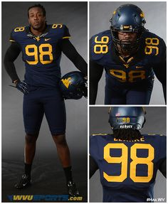 best cheap 86510 a447b 25 Best Old Gold and Blue images in 2012 | Wvu football ...