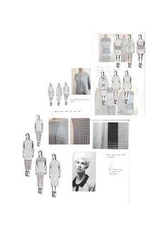 Fashion Portfolio - fashion design; knitted fabric development; fashion illustration; fashion sketchbook // Mary-Emma Brooks