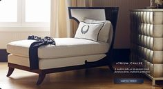 Atrium Chaise | Watch Video