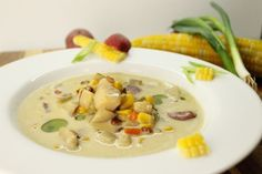 A great fall harvest meal prepared over the fire, this Smokey Corn Chowder is the perfect addition to any family gathering or meal