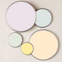Would love this pretty pastel palette in my office or bedroom!