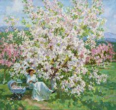 Stanislav Fomenok - Im blühendem Garten
