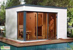 Sauna d'Extérieur Cubilis (Abri+Sauna+Poêle)