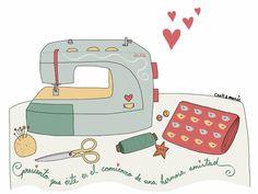 Mi primera máquina de coser