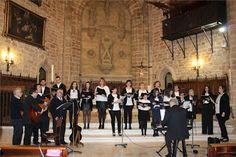 El coro parroquial lleva 41 años consecutivos felicitando la Navidad con sus voces y villancicos
