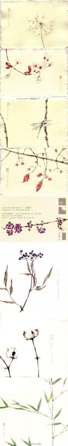 意大利女孩笔下的东方意境, Silvia Molinari,_百度图片