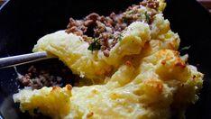 Ranskalainen jauheliha-perunavuoka eli hachis parmantier au fromage