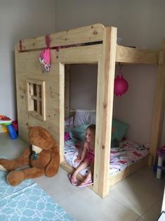 Pallet Baby Bed Room