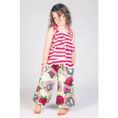 Shirred Pants - Roses and Doilies - Buckets and Spades