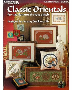 Classic Orientals for Needlepoint and Cross Stitch Pattern